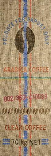 Plage Kitchen Aufkleber für Küchen und Kühlschrank-kolumbianischen Kaffee-180 x 59,5 cm, Vinyl, Colorful, 180x0.1x59,5 cm