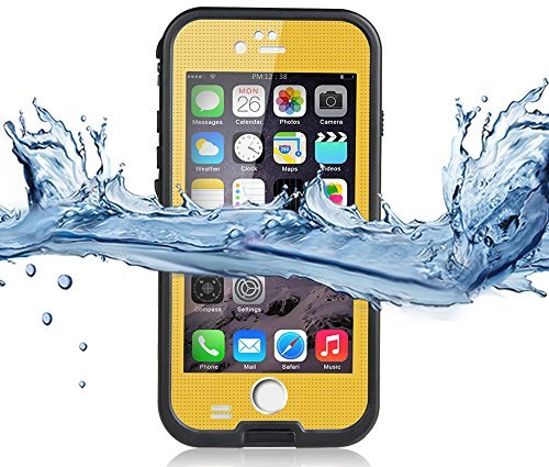 Redpepper Coque pour Apple iPhone 6, IP68 étanche antichocs imperméable pour identification d'empreintes digitales Compatible * * * * * * * * Deux ans warry * * * * * * * *