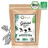CAFFE in GRANI BIO 1kg | Grani di Caffè Biologici Arabica | Torrefazione Artigianale | Gabriel