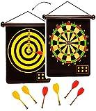 Unbekannt 2 seitiges - Magnetspiel Dart - incl. 6 Dartpfeile - OHNE Spitze - mit 2 Spielvarianten - für Kinder & Erwachsene - drinnen und draußen Spiel - Dartspiel - Ki..