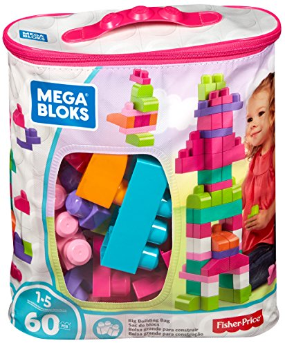 Mega Bloks - First Builders - Maxi - Sac Medium Rose