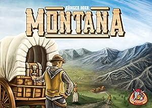 White Goblin Games Montana Estrategia Niños y Adultos - Juego de Tablero (Estrategia, Niños y Adultos, 45 min, 10 año(s), Alemán, Holandés, Inglés, Francés, Caja)