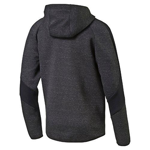 Puma Herren Evostripe Proknit Fz Hoody Pullover Cotton Black Heather