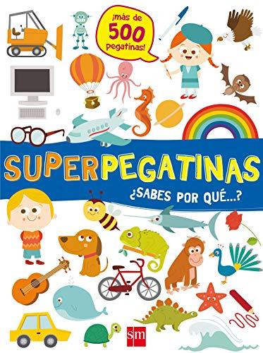 Superpegatinas ¿sabes por qué...? por De Agostini Libri