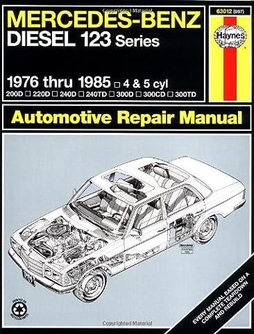 Mercedes-Benz Diesel 123 Series: 1976 thru 1985: 4 & 5