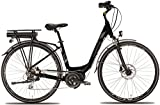 28 Zoll Damen Elektro Fahrrad Montana E-Thea, Farbe:Schwarz