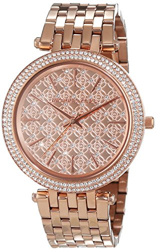 Michael Kors Womens Analogue Quartz Watch with Stainless Steel Strap MK3399