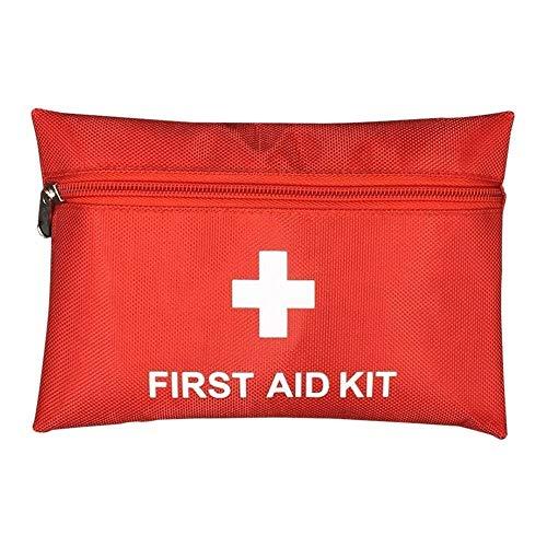 Hanbaili General Medi Mini Erste-Hilfe-Kit Kleiner Erste-Hilfe-Kasten für Reisen, Zuhause, Büro, Fahrzeug, Camping, Arbeitsplatz und Outdoor-12psc -