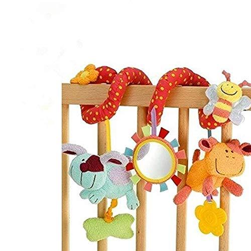 StillCool Bambino Passeggino Giocattoli con Bell educativi Giocattoli di Peluche Culla di Giocattolo appese