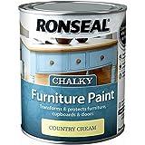 Ronseal rslcfpcc750–Chalky muebles pintura 750ml País Algodón