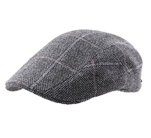 Stetson - Béret - Casquette Plate Homme ou Femme Ivy Cap Wool