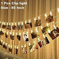 Satyam Kraft Battery Powered 10 Clip Indoor Outdoor Decoration Light