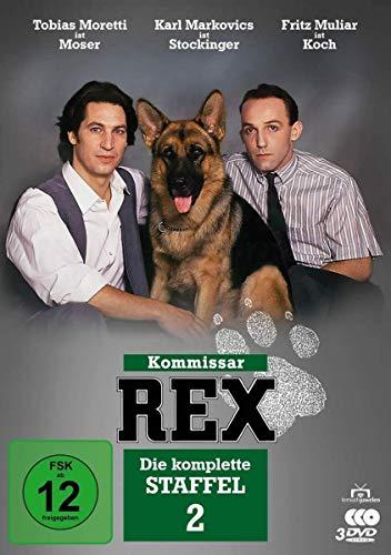 Kommissar Rex - Die komplette Staffel 2 [3 DVDs]