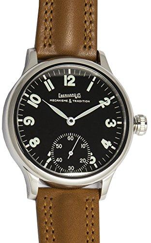 Reloj Eberhard traversetolo 21116CP Reloj Hombre Automático Correa Piel Negro