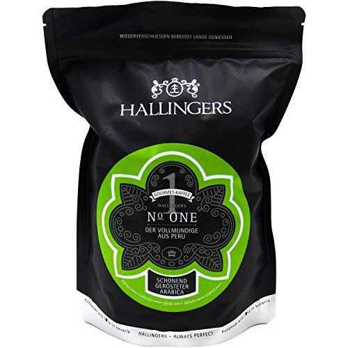 Hallingers Gourmet-Kaffee aus Peru, schonend langzeit-geröstet (500g) - No. One (Aromabeutel) - zu Passt immer