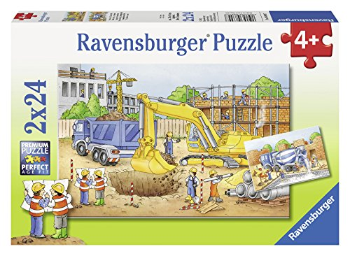 25 Puzzle Ravensburger (Ravensburger 08899 - Vorsicht Baustelle!)