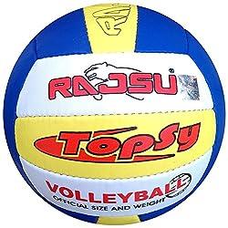 RAJSU Topsy Polyether Thane Volleyball (Multi-Color)