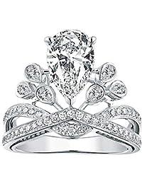 Amazones Coronas De Princesas Anillos Mujer Joyería