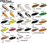 FTM Spoon Tango 1,8g - Forellenblinker zum Spinnfischen, Forellenköder zum Spinnangeln, Blinker für Forellen, Löffelblinker