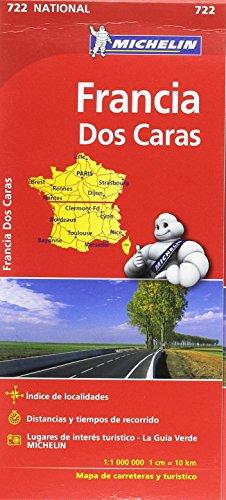 Mapa National Francia (doble cara) (Mapas National Michelin)