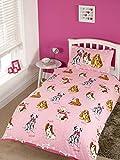 Rapport Hunde-Bettbezug-Set, für Einzelbett, Rose, 28x28x4 cm