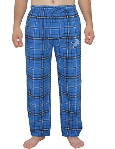 NFL Detroit Lions Herren Herbst / Winter Plaid Nachtwäsche / Pyjama Hose Mehrfarbig