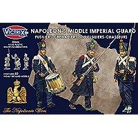 Victrix 28mm Napoleon's Middle Imperial Guard - 60x 28mm Napoleonic Miniatures