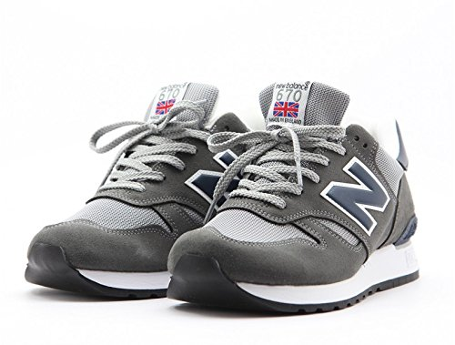 NEW BALANCE 670 SGN grey/blu 42 EUR made in england