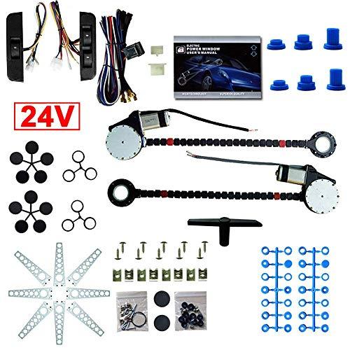HYLH Kit de conversión de Ventana eléctrica 2 conversión de Enrollado de...