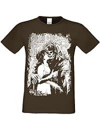 Biker T-Shirt Herren Skull Sensenmann   Totenkopf  +  Freizeitshirt  Bikershirt Übergrößen bis 0f25e40049