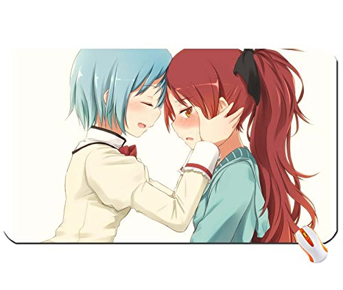 menschen-redheads-blau-haar-mahou-shoujo-madoka-magica-miki-sayaka-sakura-kyouk-big-mauspad-masse-60