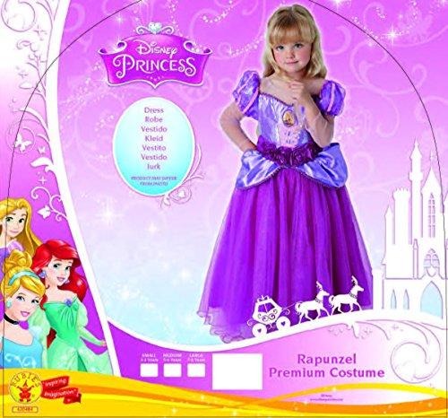 Imagen de princesas disney  disfraz rapunzel premium infantil, l rubies spain 620484 l  alternativa