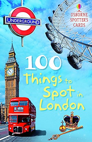 50 Things to Spot in London (Usborne Spotters' Cards)