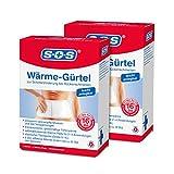 SOS Wärme-Gürtel (2er Pack) - Schmerzlinderung...