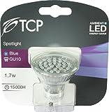 TCP GU10, 2 W, LED, 1 Ideales Licht ohne den Betriebskosten von herkömmlichen Glühlampen, Blau