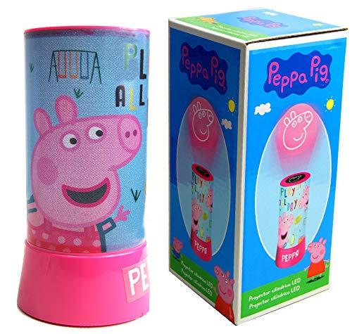Imagen de Lámpara Proyector Peppa Pig por menos de 10 euros.