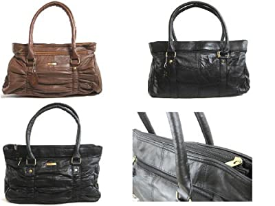 Emporium Leather NOUVEAU pour femmes haute qualité Véritable Sac à main bandoulière cuir sac besace