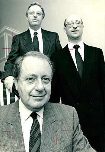 Fotomax Vintage Photo of Brian Rubins, Geoffrey Berger and Harvey Cohen. (Geoffrey Cohen)