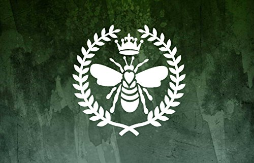 Celycasy Queen Bee Decal, Bienenenkönigin Autoaufkleber, Queen Bee Tumbler Decal, Boss Lady Decal, Queen Decal, Queen Bee Sticker (Iphone 5 Queen Bee)