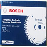 Bosch 2608644272 TCT Wood Circular Saw Blade, Eco Series (110 x 20, 30 Teeth)