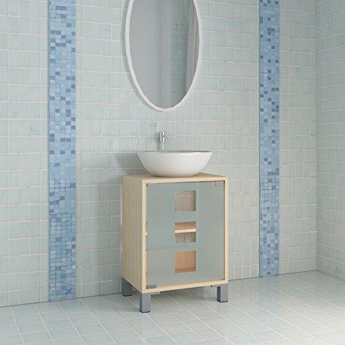 Waschbeckenunterschrank mit zwei Einlegeböden - 7