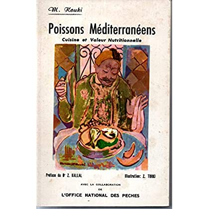 POISSONS MEDITERRANEENS CUISINE ET VALEUR NUTRITIONNELLE