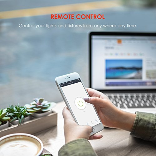 Teckin Smart Plug Wifi Socket Mini Outlet Remote Control Energy Monitoring  Timing Function Works With Amazon Alexa Echo Google Home No Hub Required,