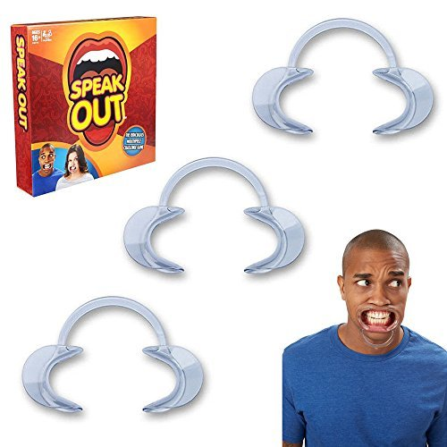 Wholesasale Solutions Ltd - Speak Out Replacement Mouth Pieces Guards Spare Speak Out Game (x5)