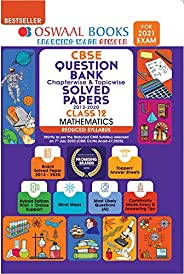 Oswaal CBSE Question Bank Mathematics Class 12 Chapterwise & Topicwise Solved Papers (Reduced Syllabus) (F