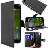 ebestStar - Wiko Pulp 4G Case Wallet Case PU Leather Flip