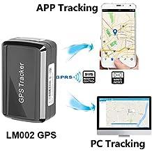 Tracker magnetico GPS, sistema di monitoraggio GPS/GSM/GPRS, senza abbonamento mensile, wireless, mini, portatile, tracker magnetico nascosto per veicolo antifurto/per ragazzi