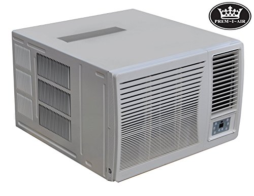 51oAtxyeW1L - Prem-I-Air Air Conditioner 12KBTU Inverter DC Unit for Fixed Installation, Perfect for air Control
