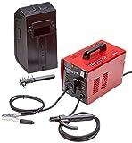 Matrix 170100025 Schweißgerät Elektro | 3.500 Watt Leistung | 48 Volt | Schweißstrom stufenlos Regelbar von 40-100 Ampere, 3500 W, 230 V