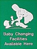 Baby Umkleideräume erhältlich hier Schild Foamex Made Größe 400x 300x 2mm